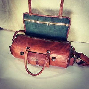 "22"" Handmade Travel Duffel Bag"