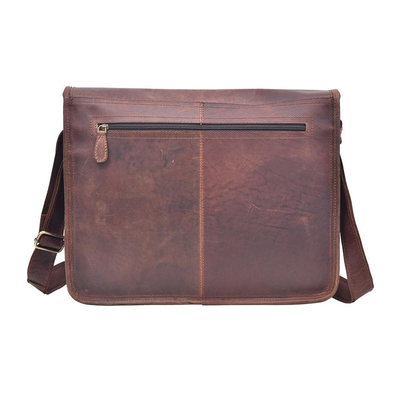 Ashburton Leather Messenger Bag