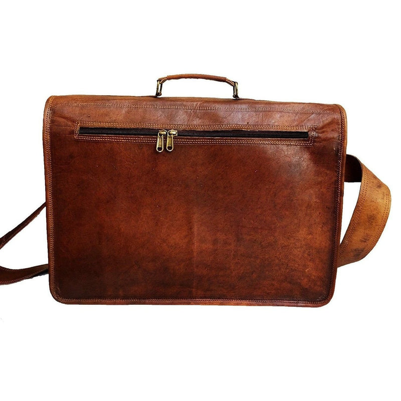 Elegant Handmade Office Briefcase