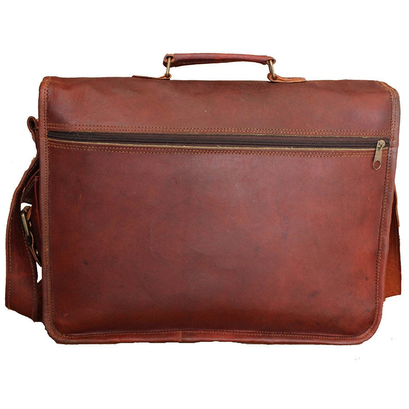 Men Laptop Handmade Vintage Leather Briefcase