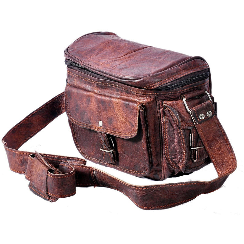 Vintage Leather Camera Pouch For All Photographers