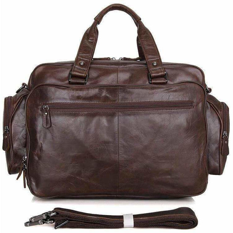 Large Leather Briefcase with extra space