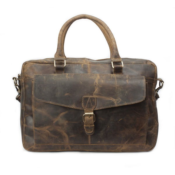 Colchester One Pocket Leather Briefcase
