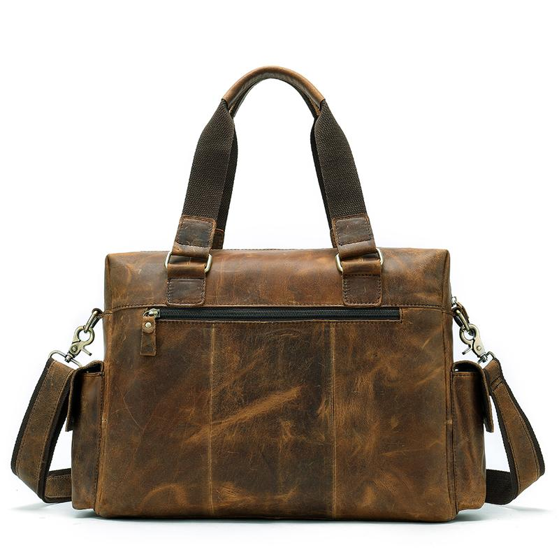 Vintage Retro Leather Shoulder Handbag