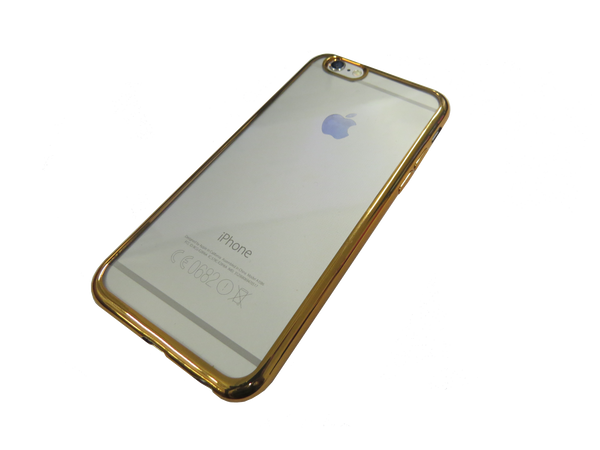 iPhone 6 - Gold rimmed protective case