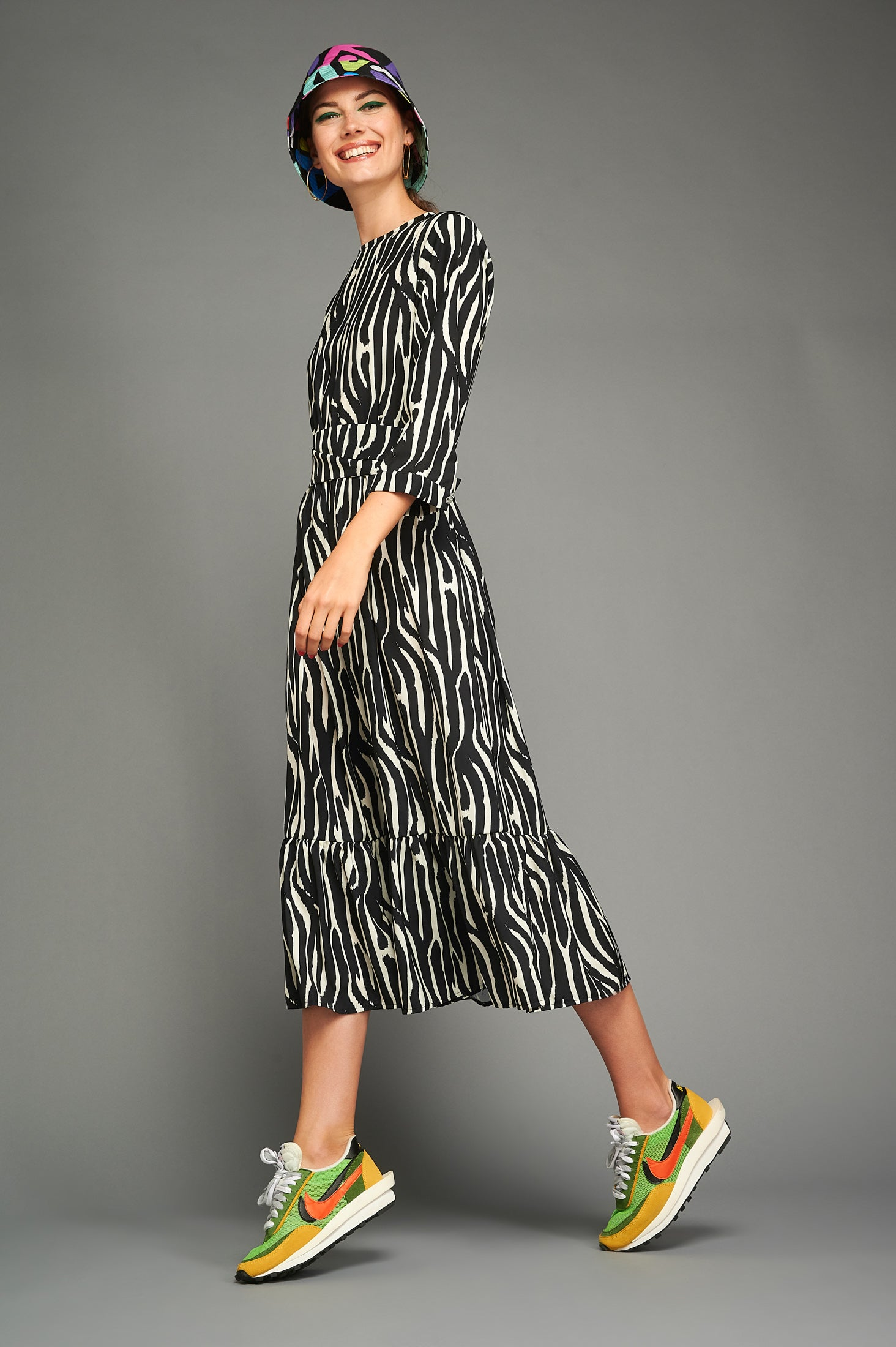 Tatiana Dress (Zebra)