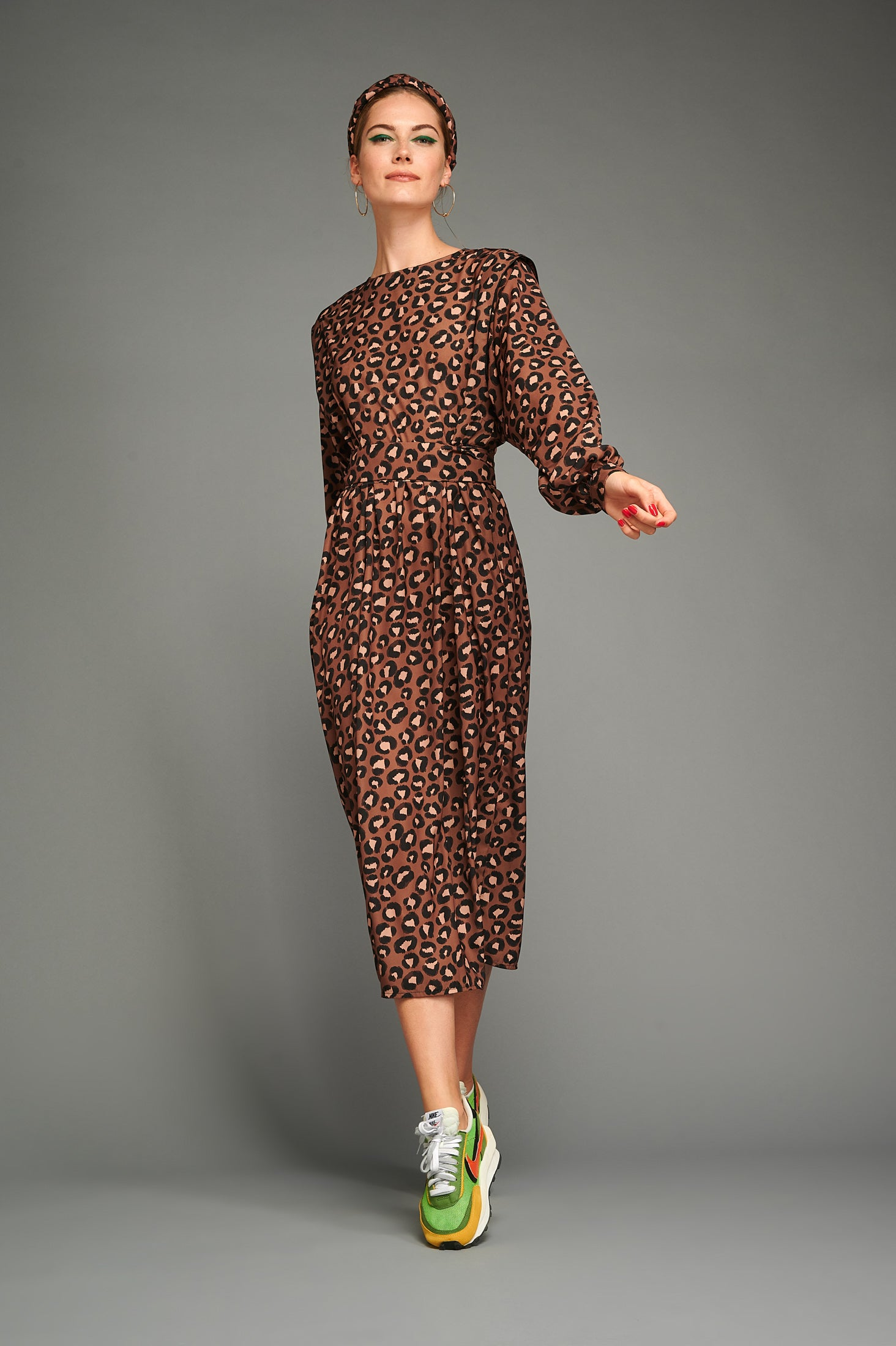 Cindy Dress (Leopard)