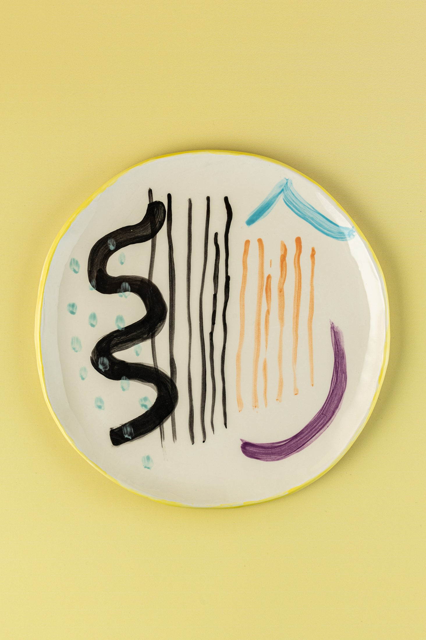 """Abstract"" Dinner Plate"