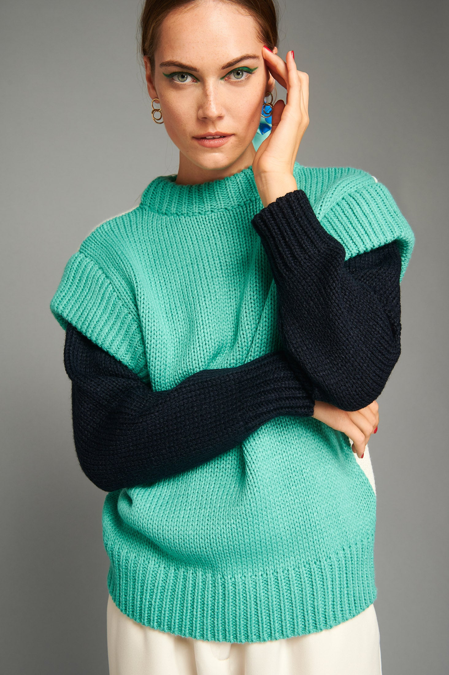 Courtney Sweater (Mint)