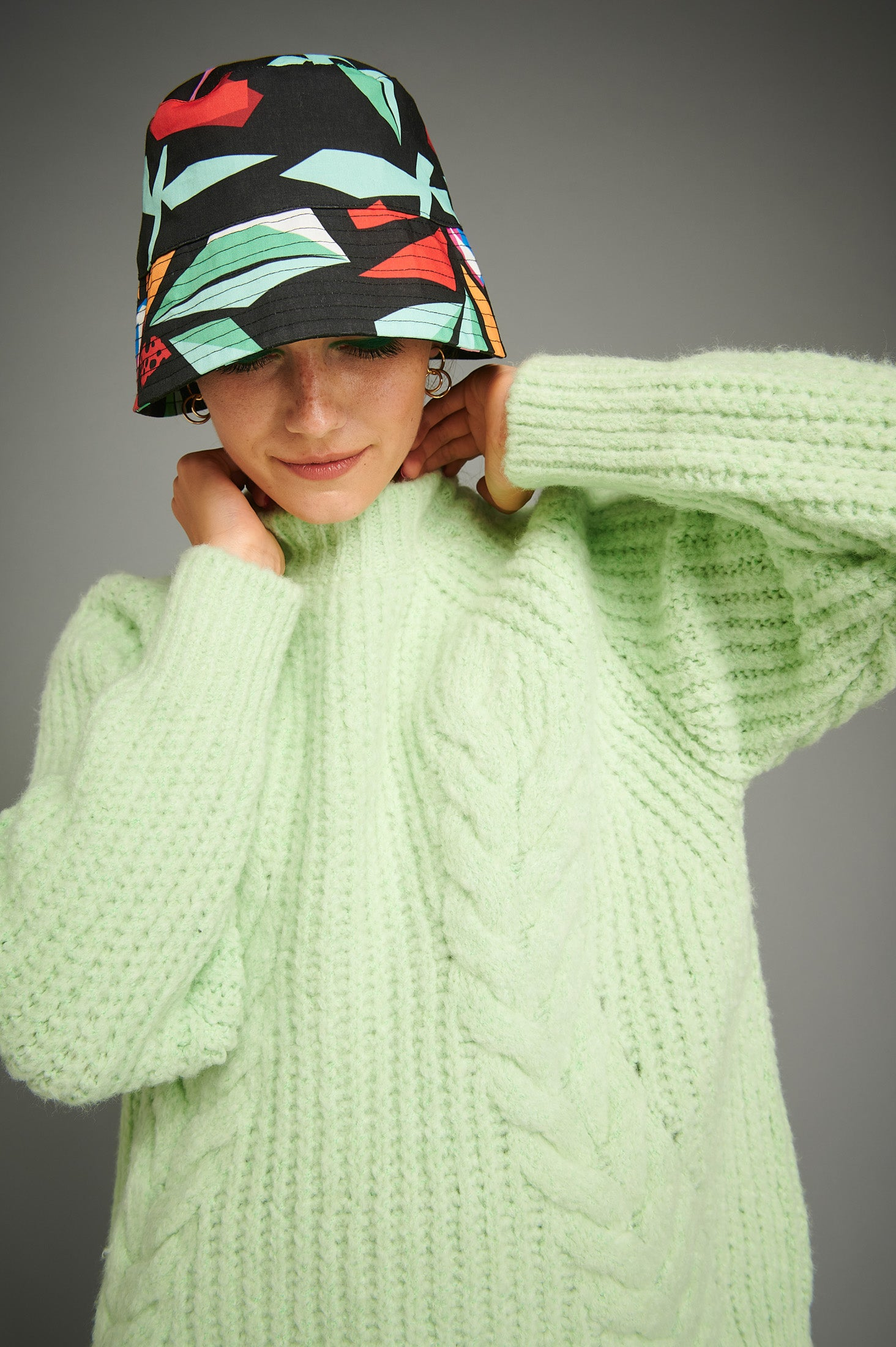 Fania Sweater (Mint)