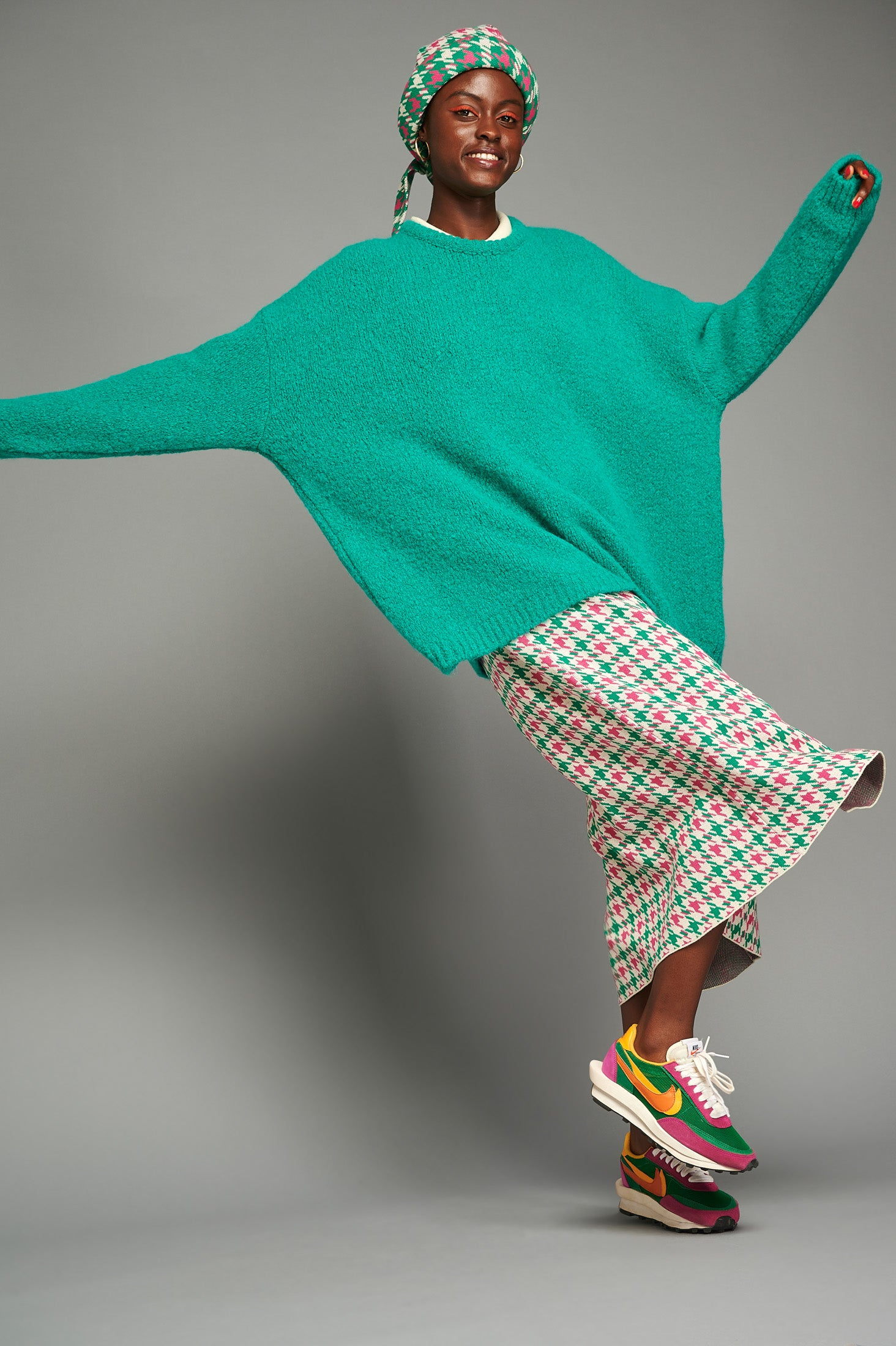 Zoe Sweater (Green)