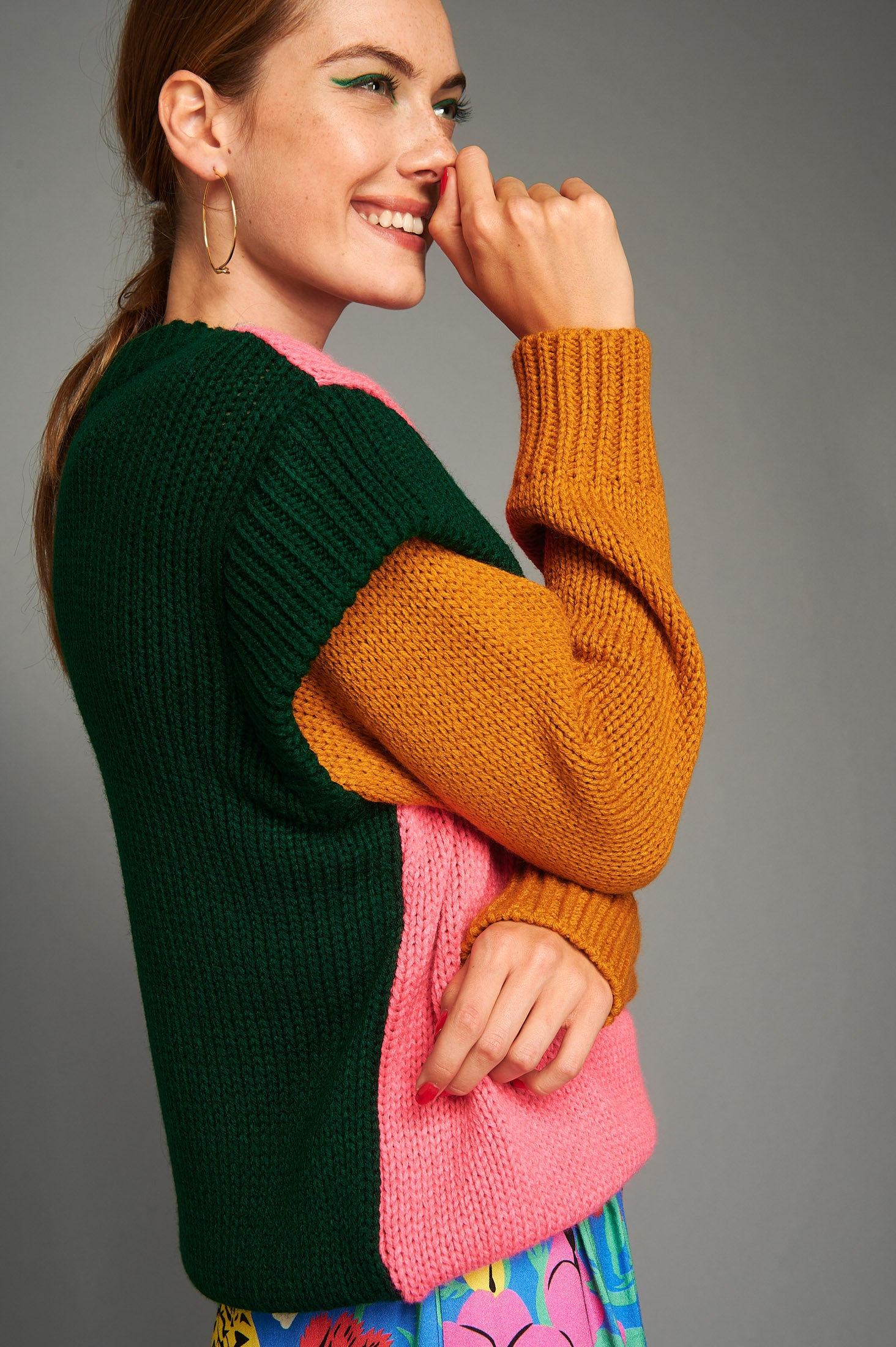 Courtney Sweater (Pink)