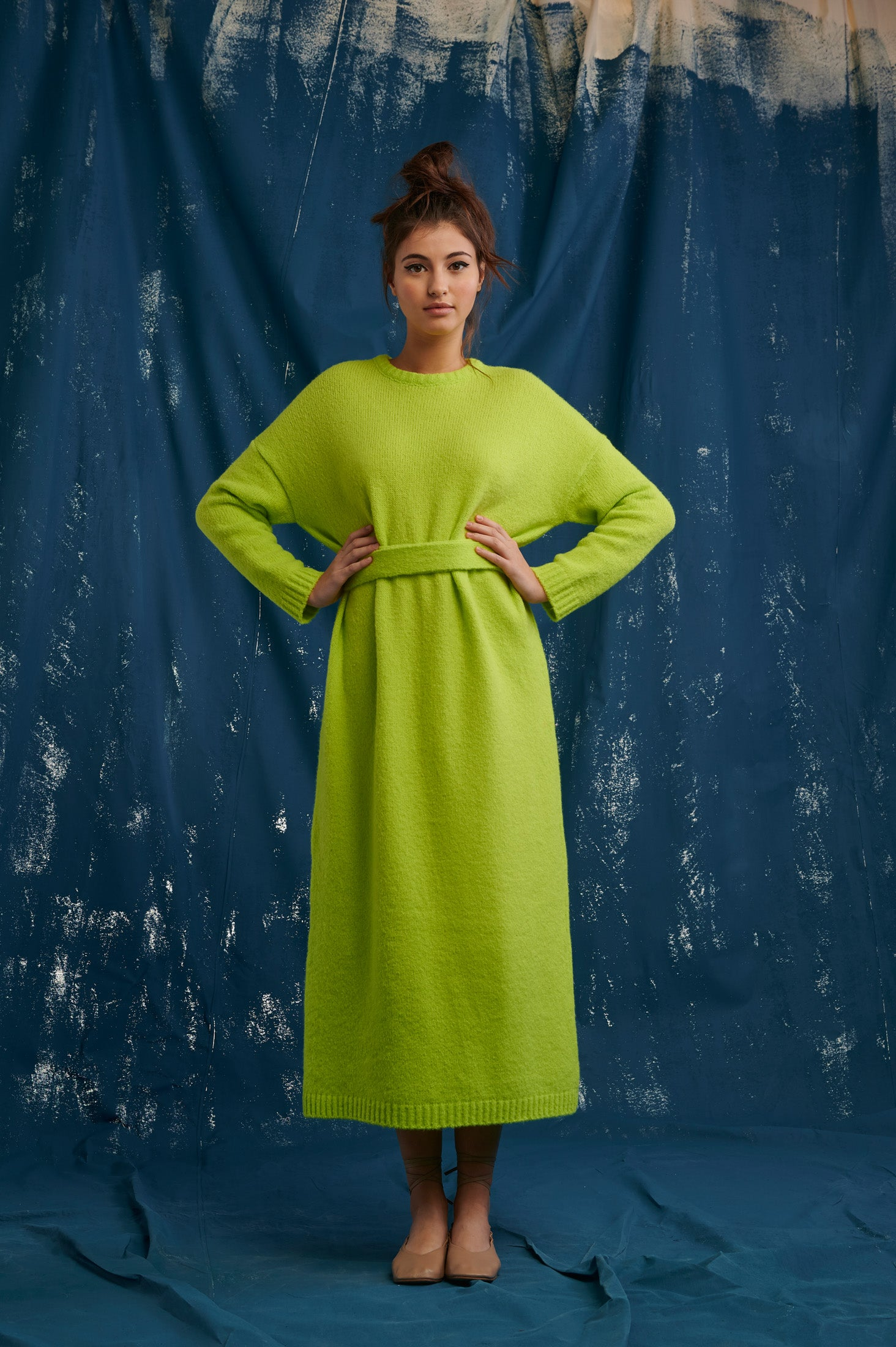 Jaxon Dress (Lime)