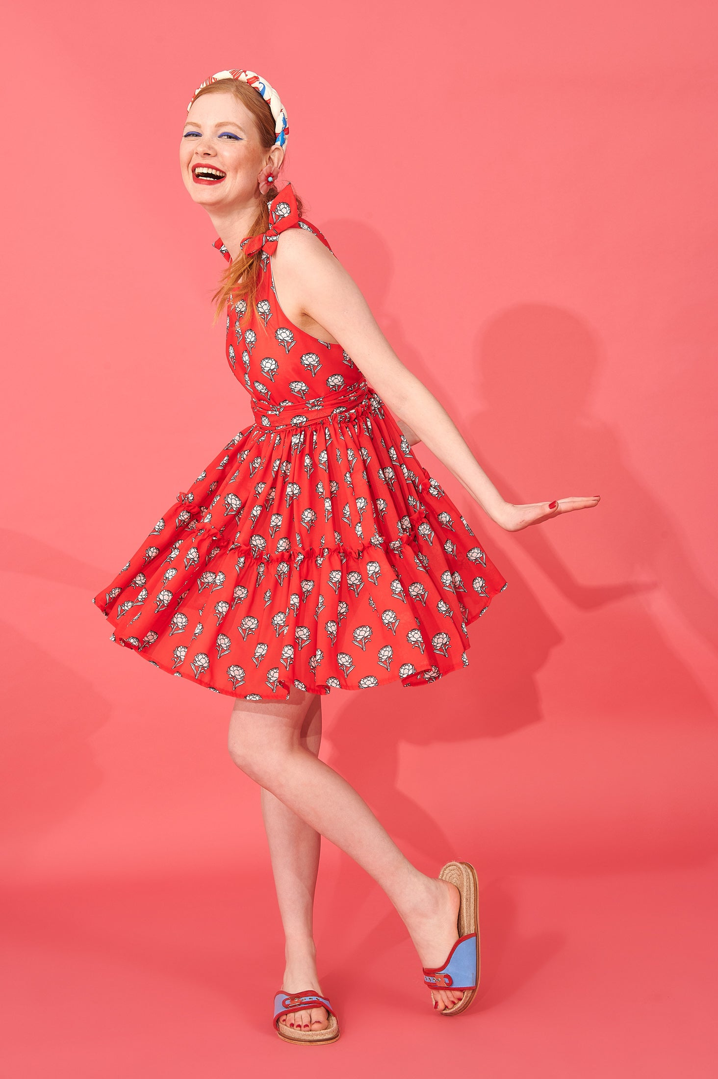 Reiko Dress (Red)