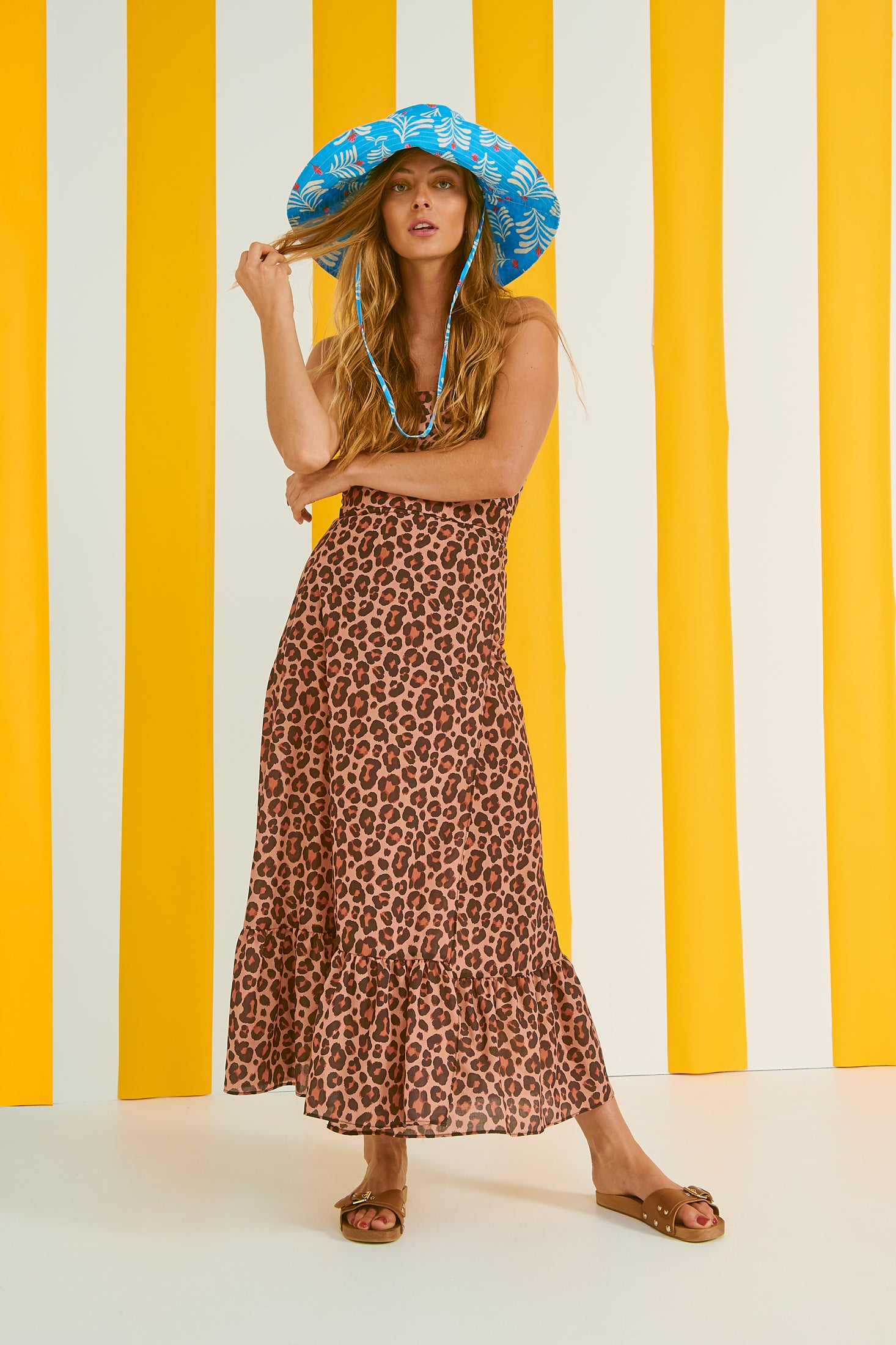 Ross Skirt (Leopard)
