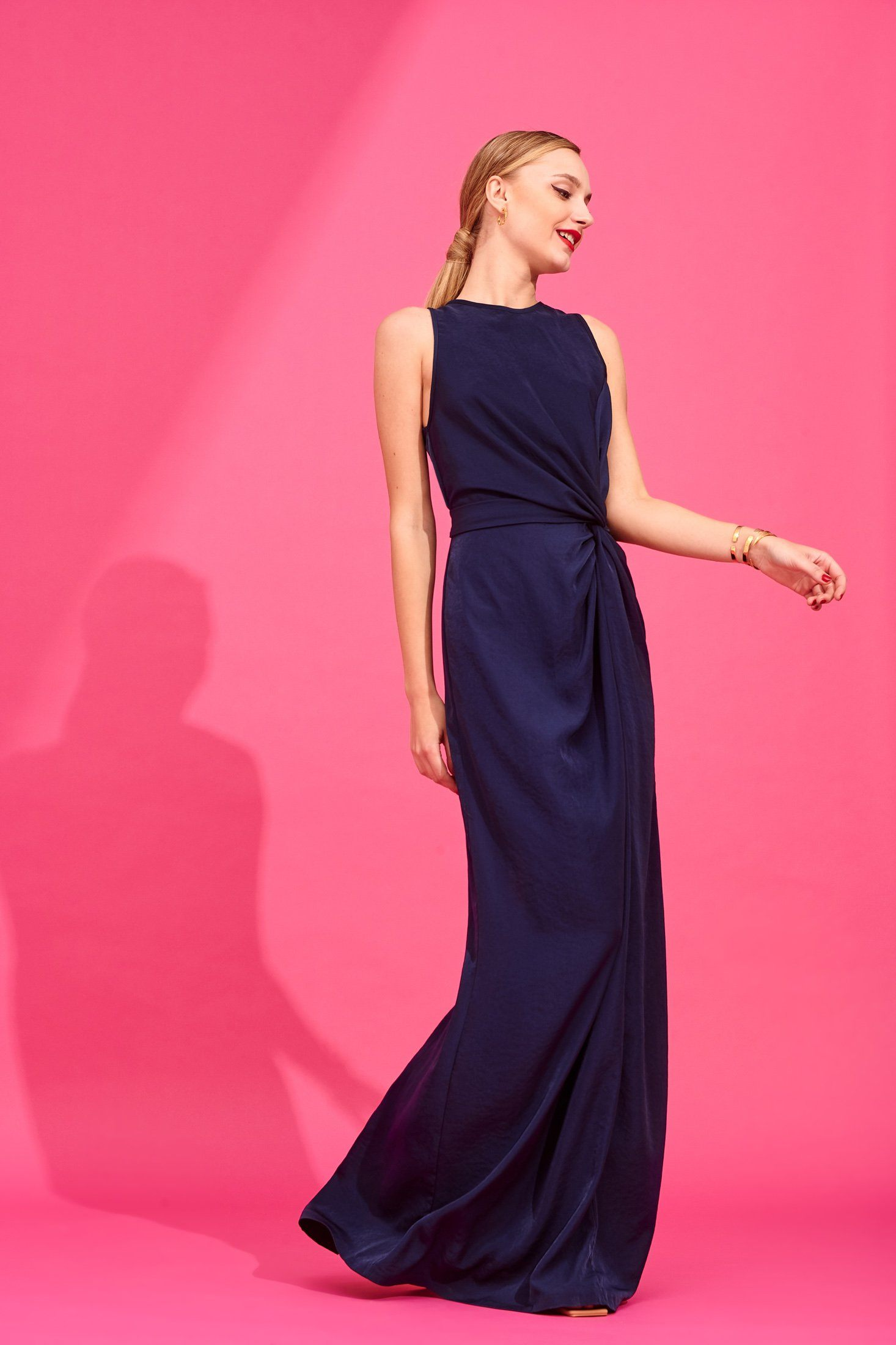 Estelle Dress (Blue) Dresses Karavan Clothing