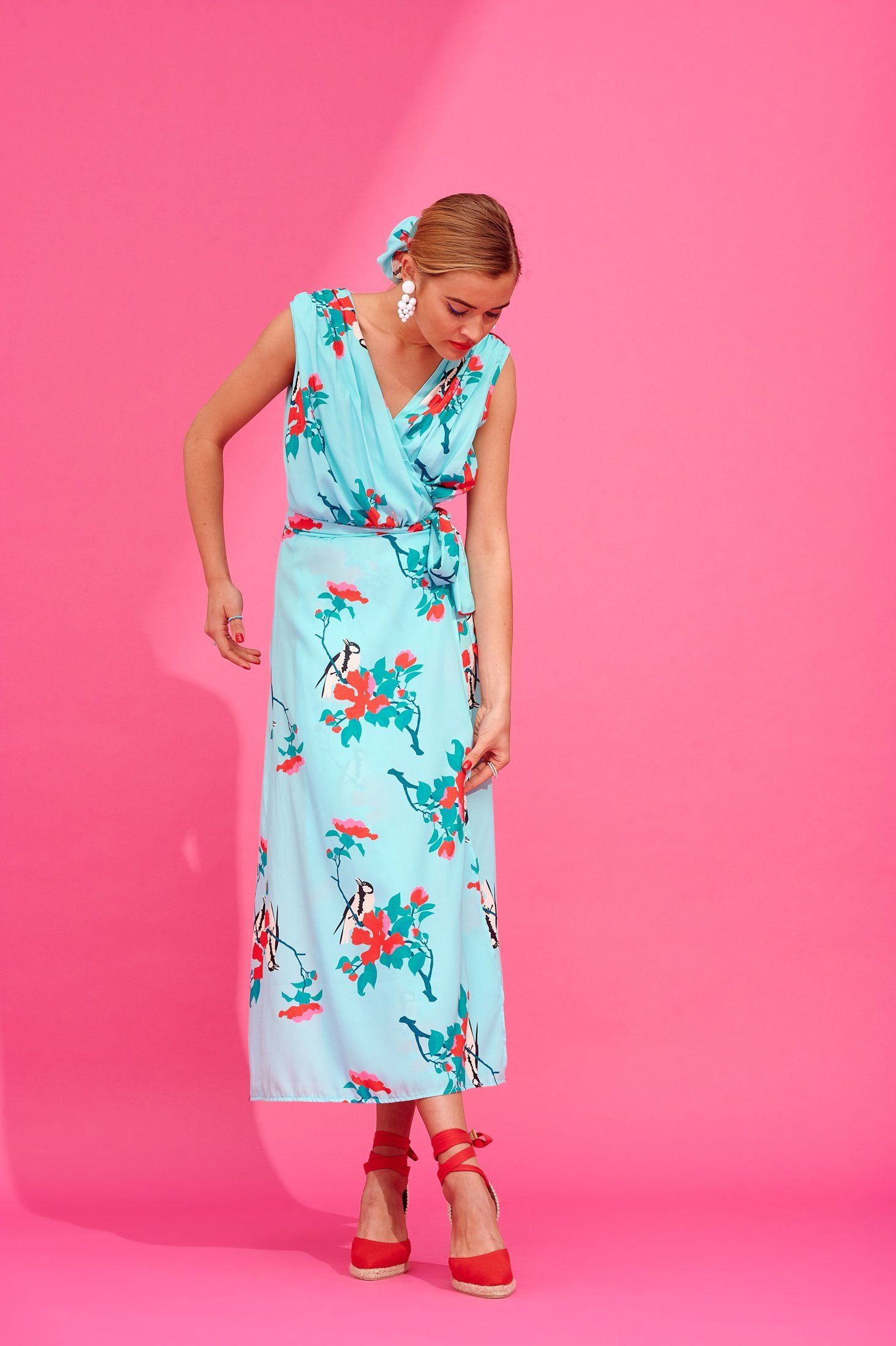 Jeannina Dress (Mint) Dresses Karavan Clothing