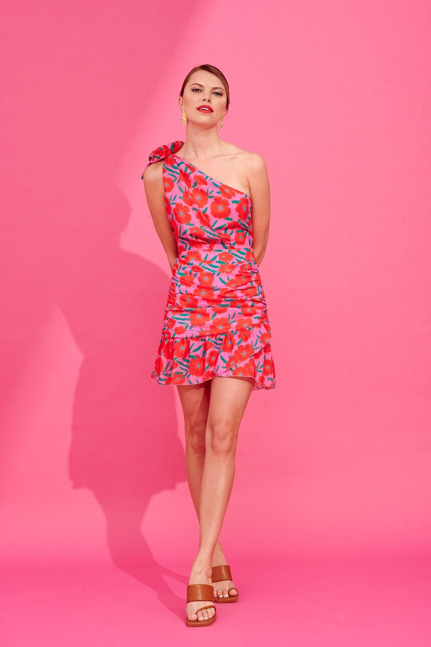 Lisa Marie (Pink) Dresses Karavan Clothing