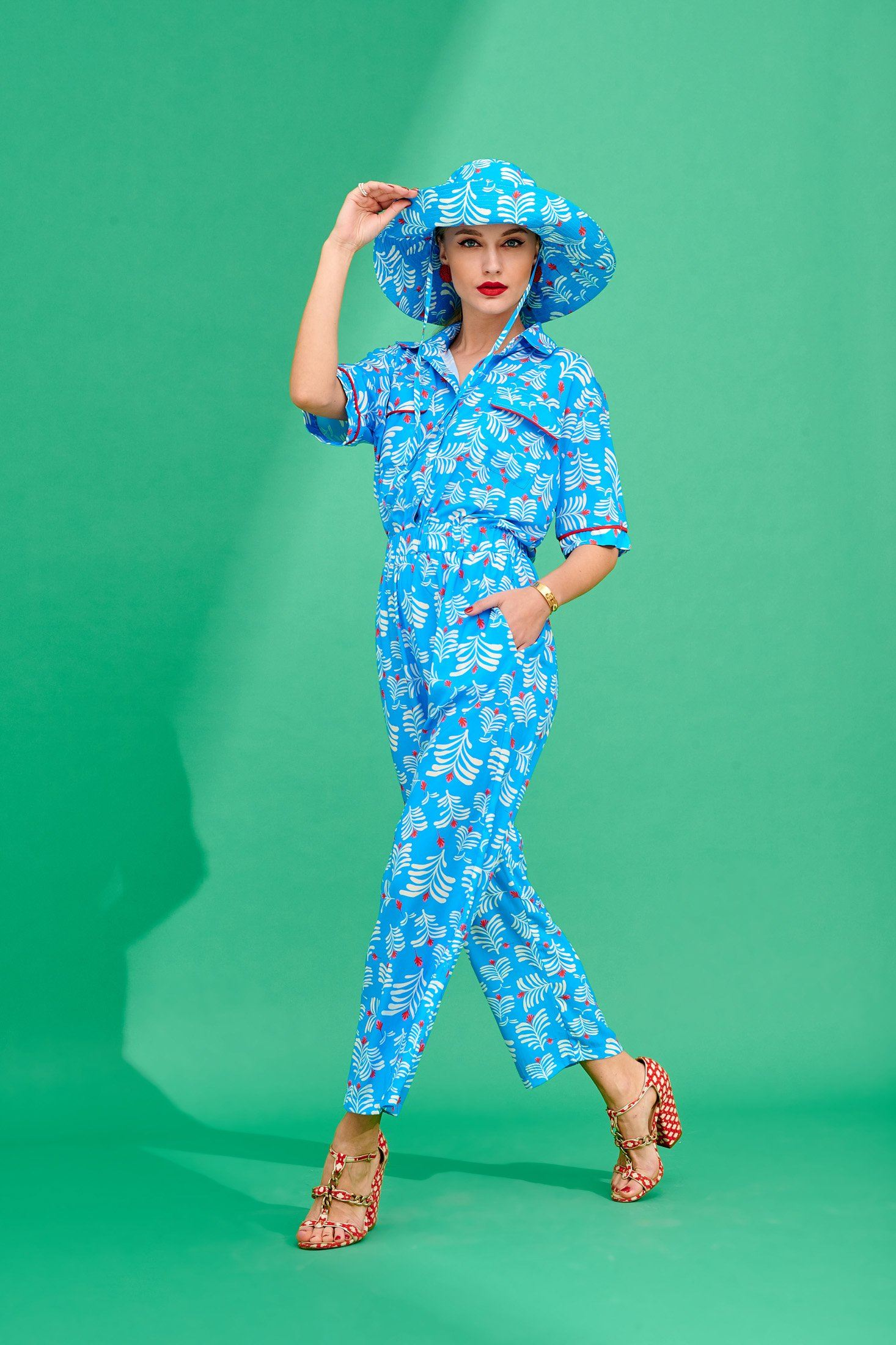 Martin Jumpsuit Bottoms Karavan Clothing