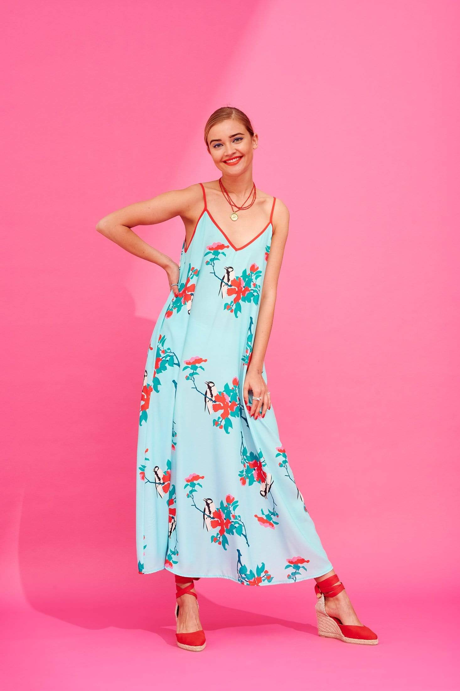 Tati Dress (Mint) Dresses Karavan Clothing