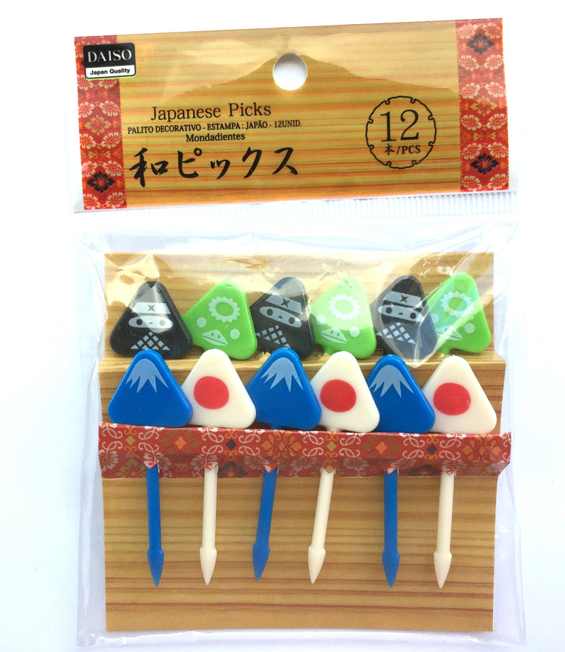 Japanese Bento Box Picks  Mount Fuji Onigiri Ninja