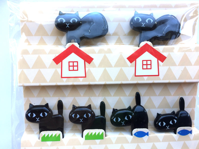 Black Cat Food Picks For Japanese Bento