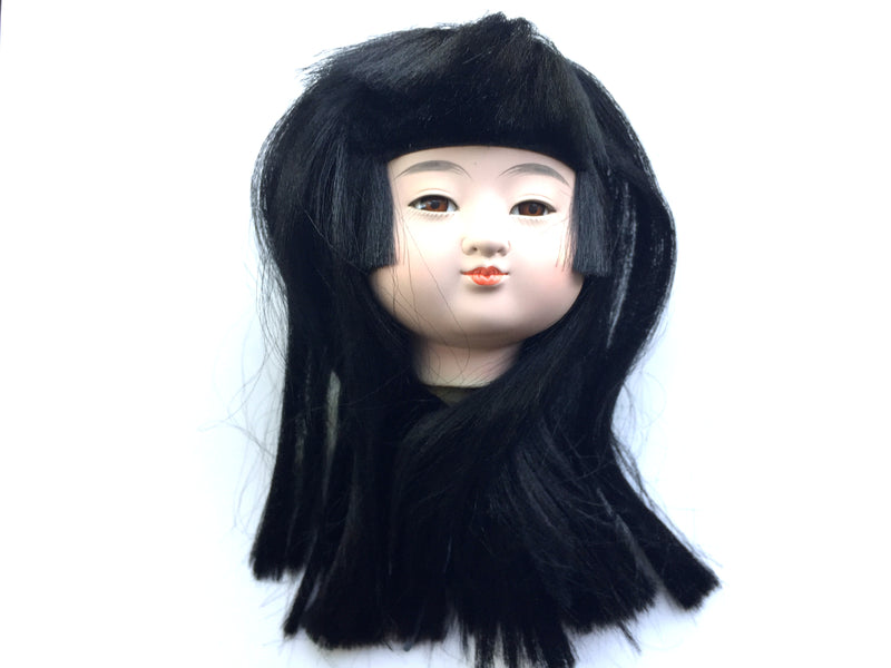 Japanese doll head - female ichimatsu doll