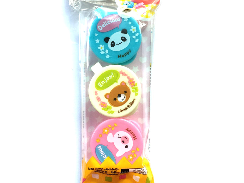 Bento Box Condiment Sauce Container Cups Animals
