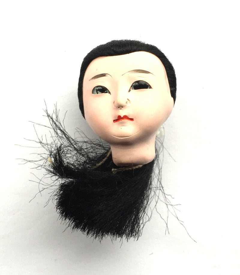 Japanese Female doll head Tiny Size
