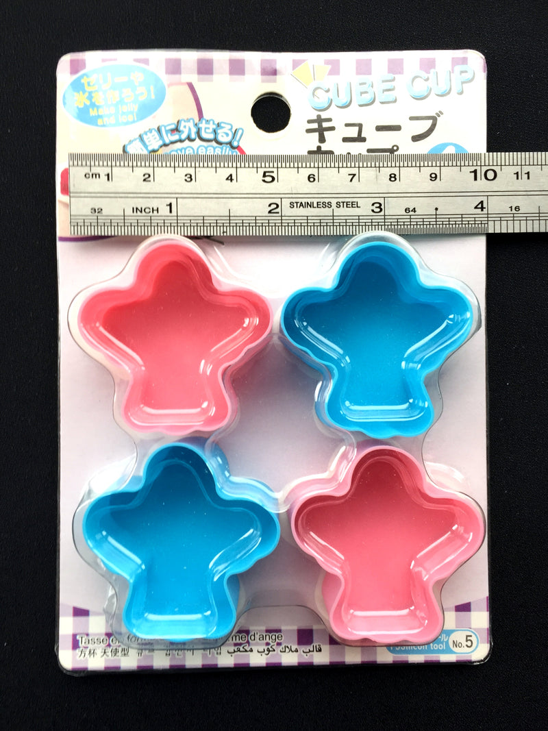 Angel Shaped Silicone Food Cups And Jelly Molds