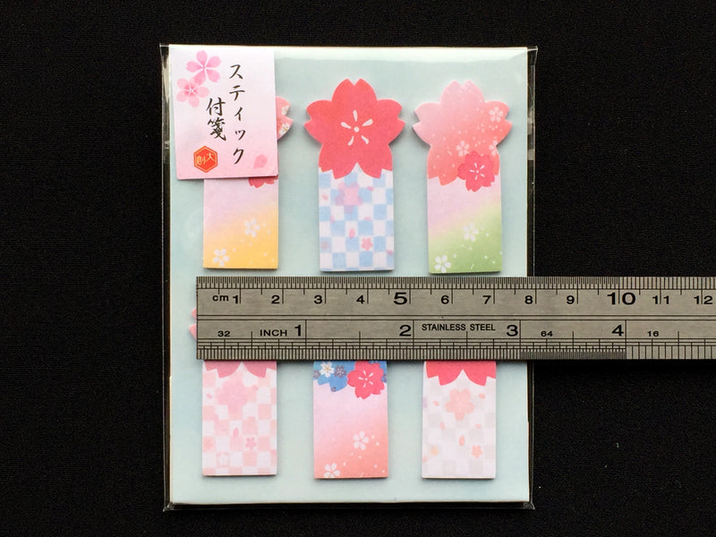 Japanese Sticky Notes - Cherry Blossoms