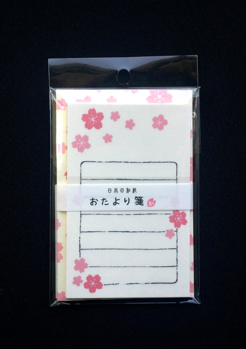 Very Small Cherry Blossom Letter Set