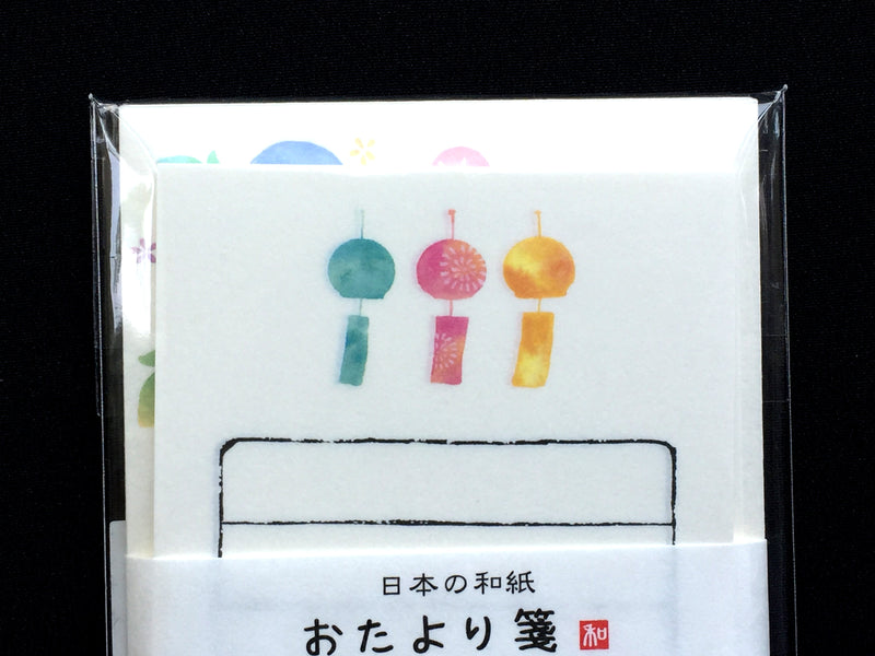 Japanese wind chimes letter set