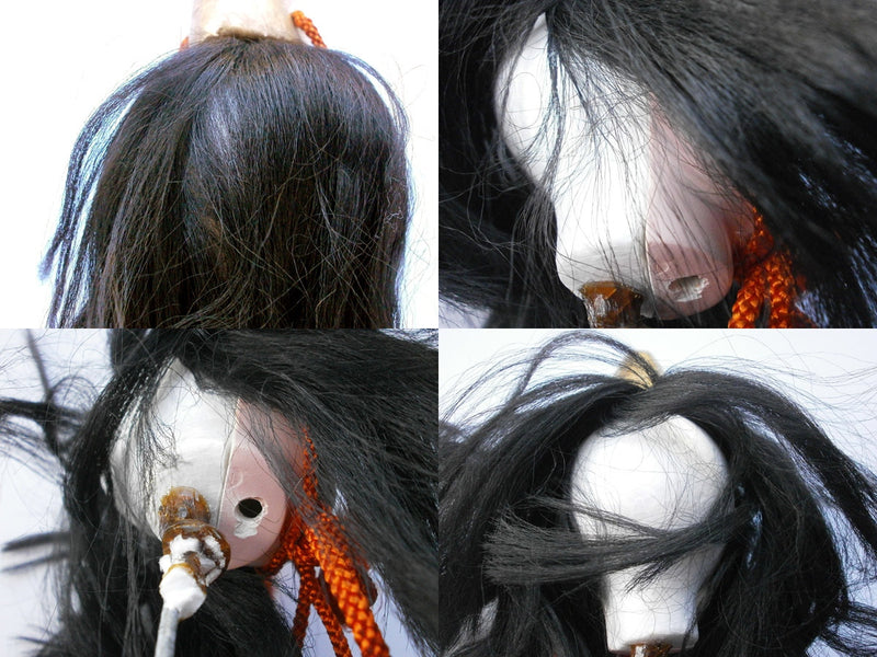 traditional Japanese Female Doll Head