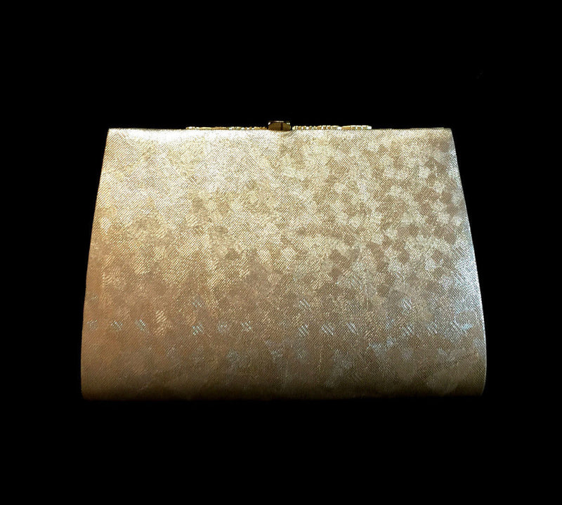 Gently Used Japanese Gold Clutch