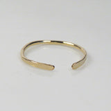 Open Gold Stacking Ring, Adjustable Gold Fillef Rings
