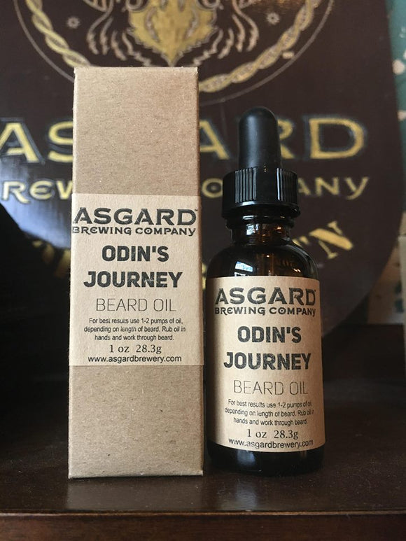 Asgard Beard Oil - Odin's Journey
