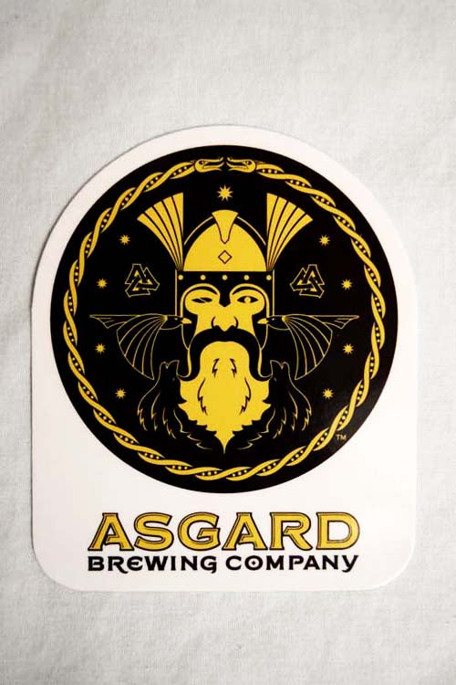 Asgard Logo Sticker