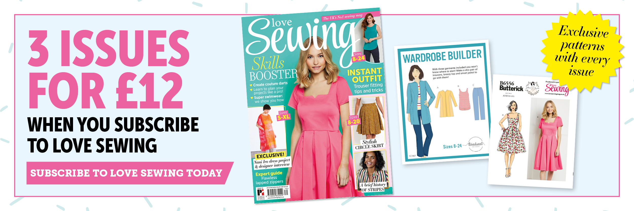 Love Sewing Magazine Offer