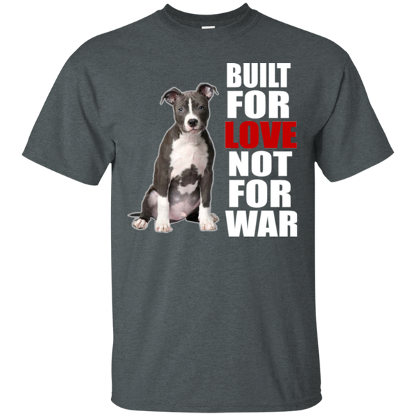 Every pit bull matters t shirts proud pitbull parents for Built for war shirt