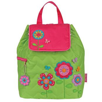 Stephen Joseph Quilted Backpack - Flower