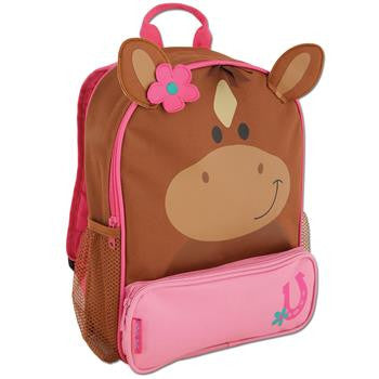 Stephen Joseph Sidekick Backpack - Horse