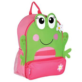 Stephen Joseph Sidekick Backpack - Frog