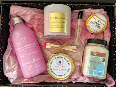 Medium Personalized Gift Box - Candles With Purpose