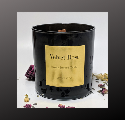 Velvet Rose Luxury Candle - Candles With Purpose