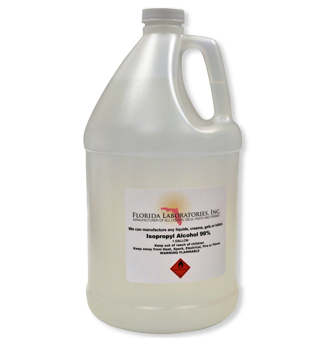 Isopropyl Alcohol 99% Anhydrous - 1 Gallon - Always White