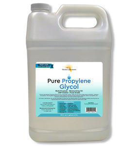 Propylene Glycol, USP, 100% Food Grade Safe, Kosher, Multiple Sizes Available - Always White