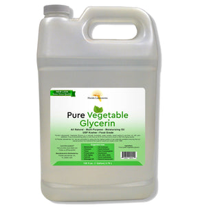 Vegetable Glycerin Pure & Natural, USP, 100 % Food Grade Safe, Kosher - Multiple Sizes Available - Always White