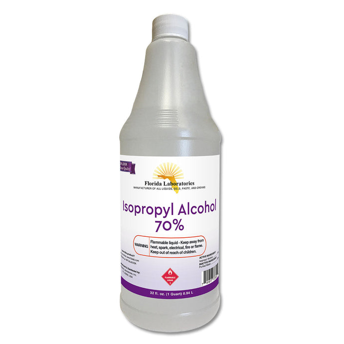 Isopropyl Alcohol 70% - 1 Quart - Isopropyl-Alcohol.Com
