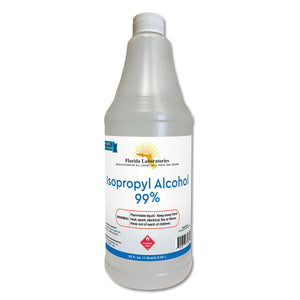 Isopropyl Alcohol 99% Anhydrous - 1 Quart - Always White